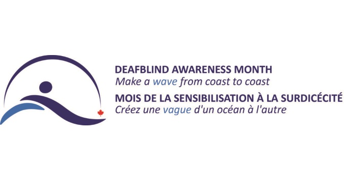 Deafblind awareness month logo